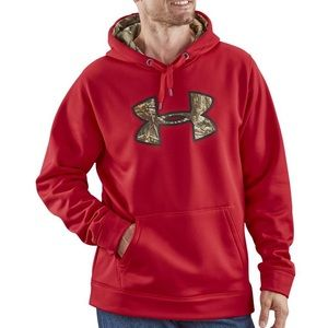 UnderArmour Storm Caliber Hoodie Daredevil Red